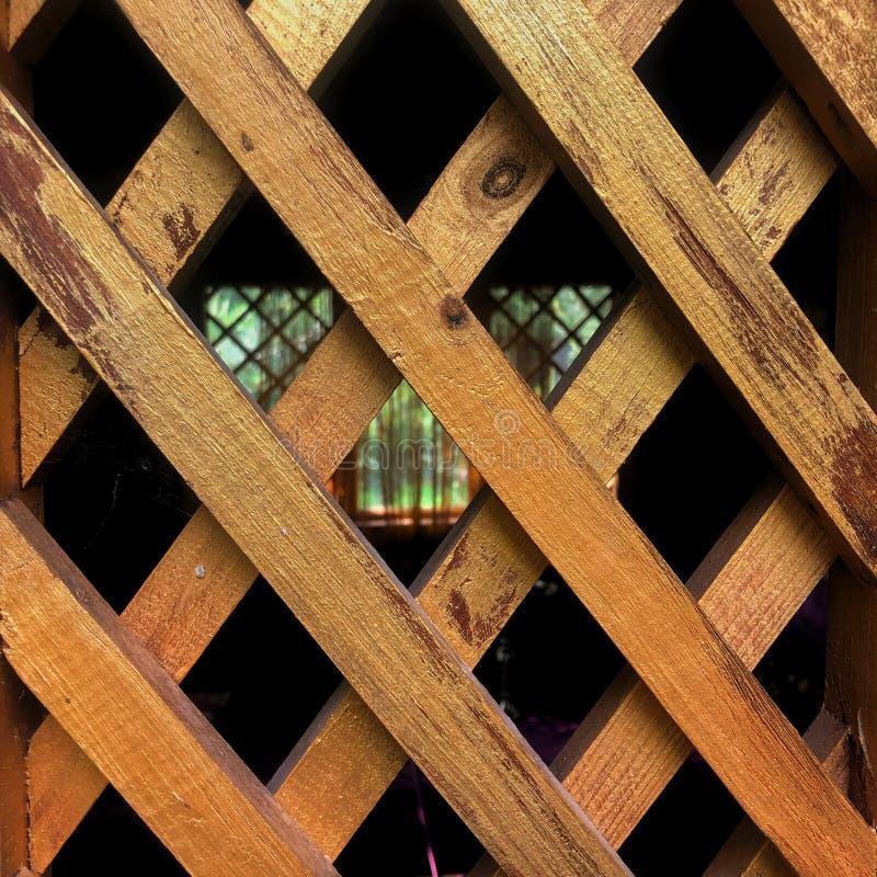 Bezszwowa tekstura drewniany nawierzchniowy rhombus drewna tło zdjęcia stock