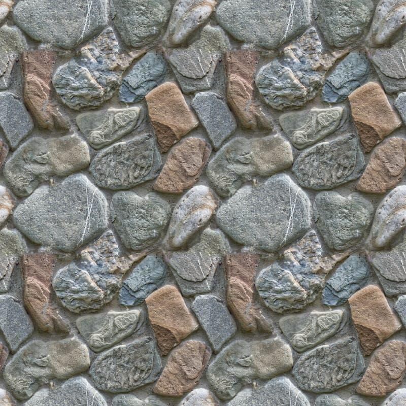 Bezszwowa tekstura od skał Dobry wybór dla miasto kwadratów i drogi projekta zdjęcie stock