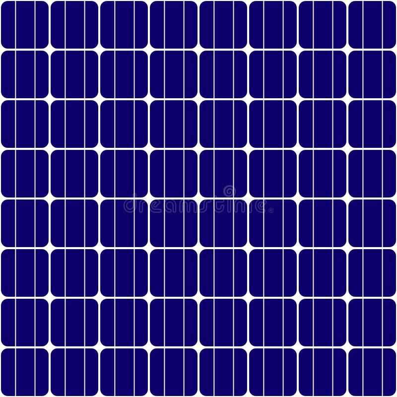 Bezszwowa tekstura panel słoneczny royalty ilustracja