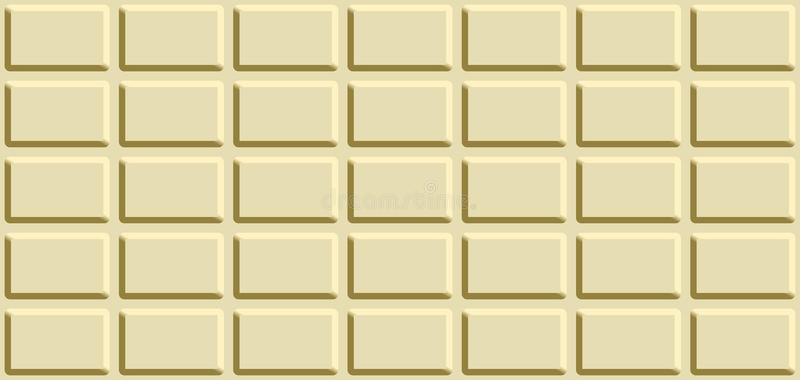 Bezszwowa tekstura z białym czekoladowym barem royalty ilustracja