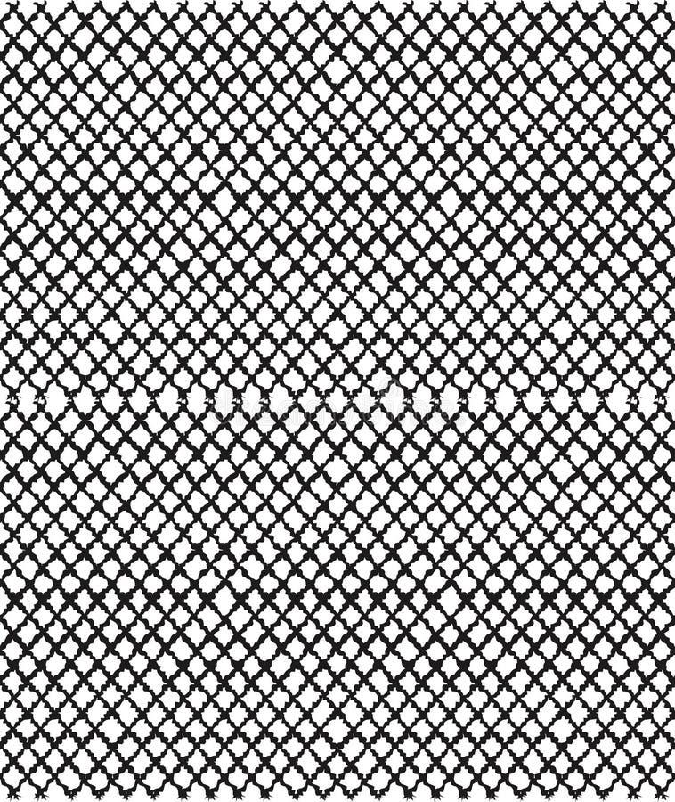 Bezszwowa tekstura z handdrawn ołówkowymi uderzeniami griddle ilustracja wektor
