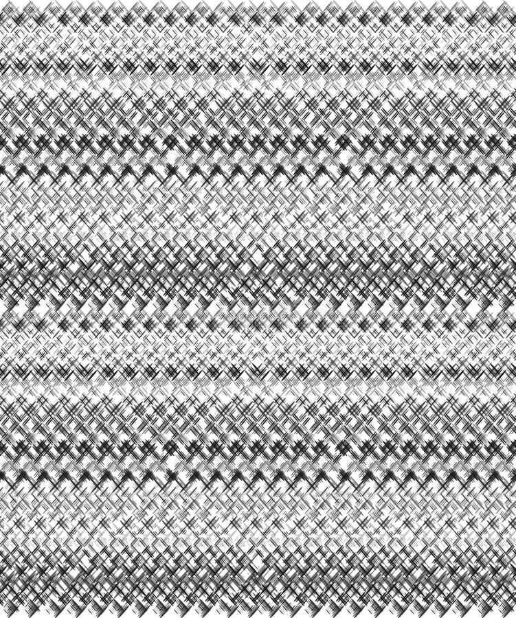 Bezszwowa tekstura z handdrawn ołówkowymi uderzeniami griddle royalty ilustracja