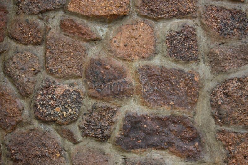 Bezszwowego ashlar kamiennej ściany tekstury stary tło obrazy stock