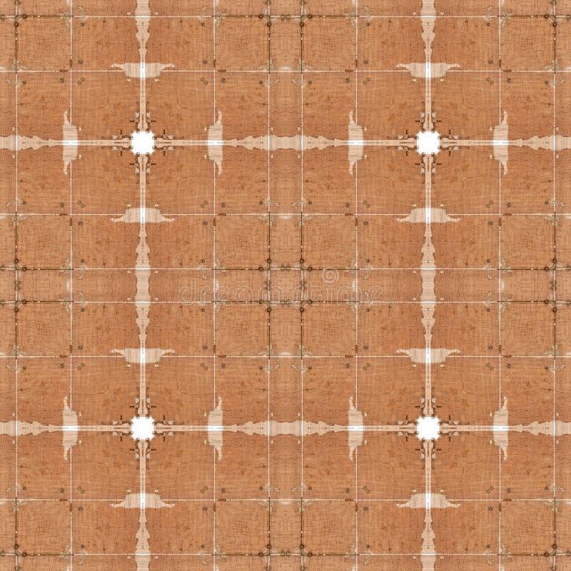 Bezszwowego brązu drewniany textured tło, abstrakta wzór zdjęcie royalty free