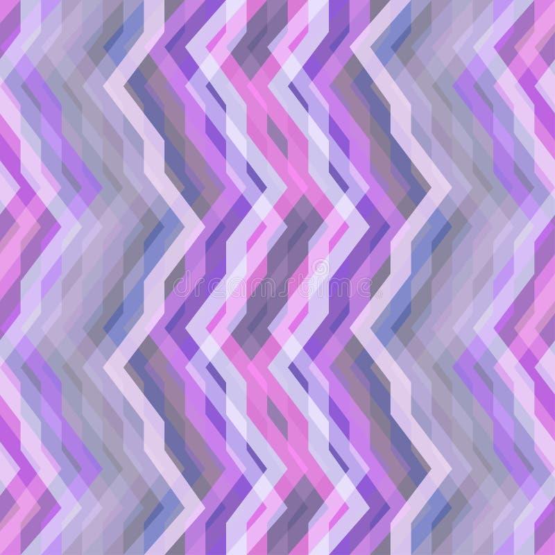 Bezszwowego koloru Abstrakcjonistyczny Retro Wektorowy tło royalty ilustracja