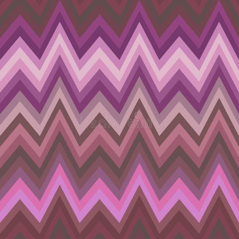 Bezszwowego koloru Abstrakcjonistyczny Retro Wektorowy tło ilustracji