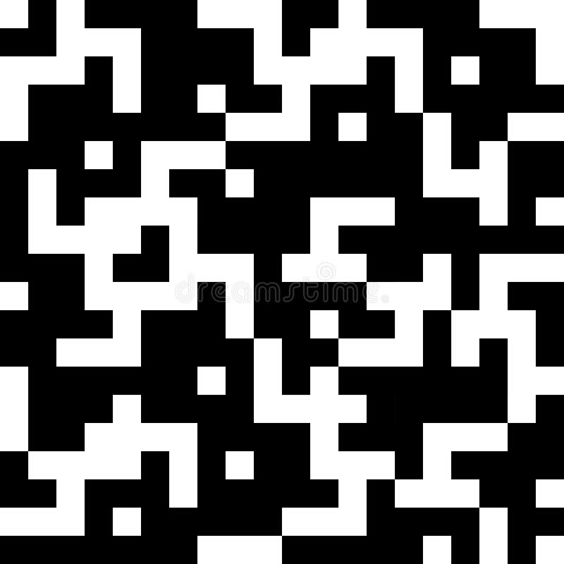 Bezszwowego rocznika geometryczny wzór ilustracji