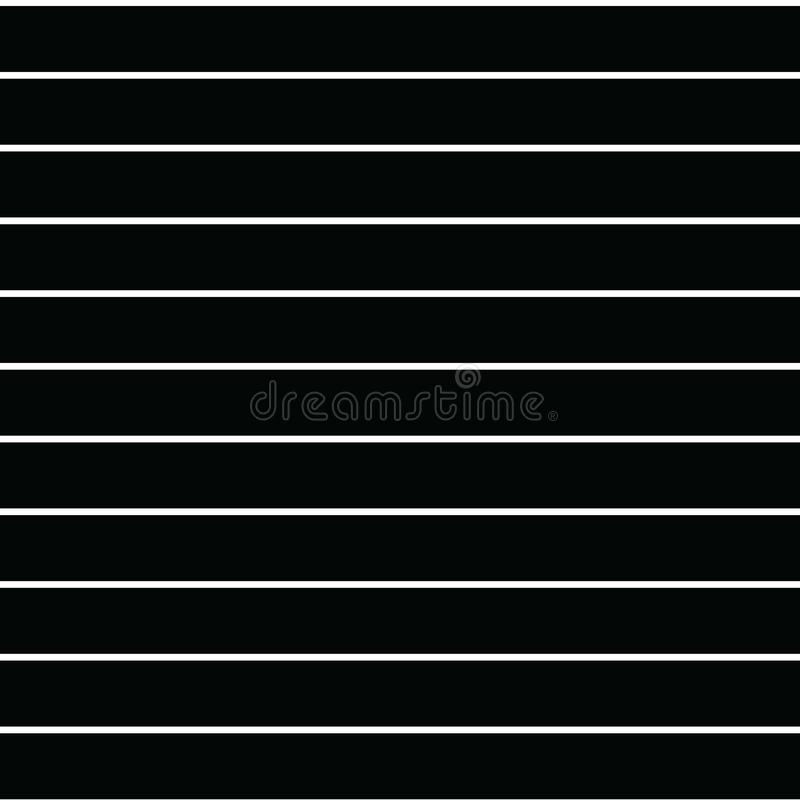 Bezszwowego wektoru lampasa cienki wzór z horyzontalnym równoległym str ilustracji