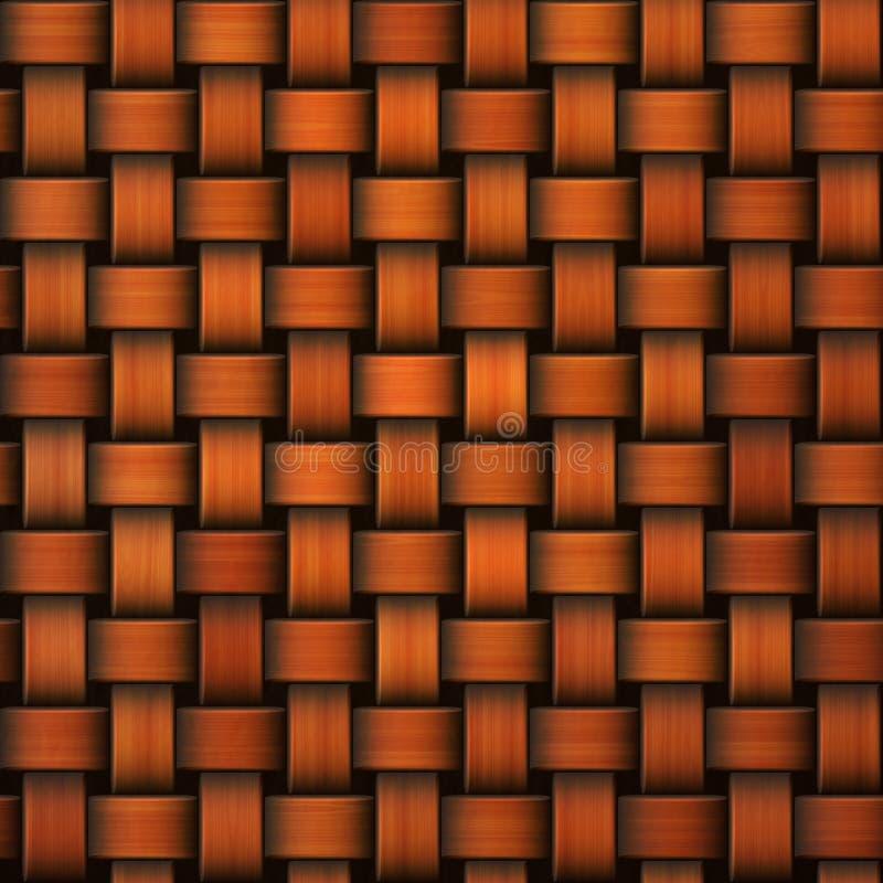 Bezszwowej pomarańcze trykotowy tło ilustracji