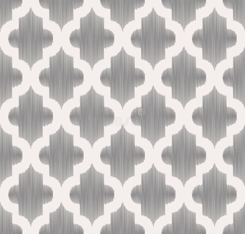 Bezszwowej skrobaniny siatki geometryczny wzór ilustracji