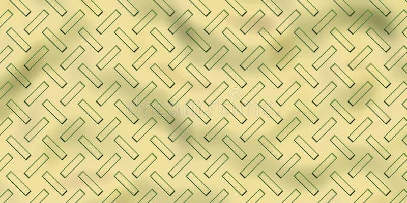 Bezszwowej stali diamentu talerza tekstura royalty ilustracja