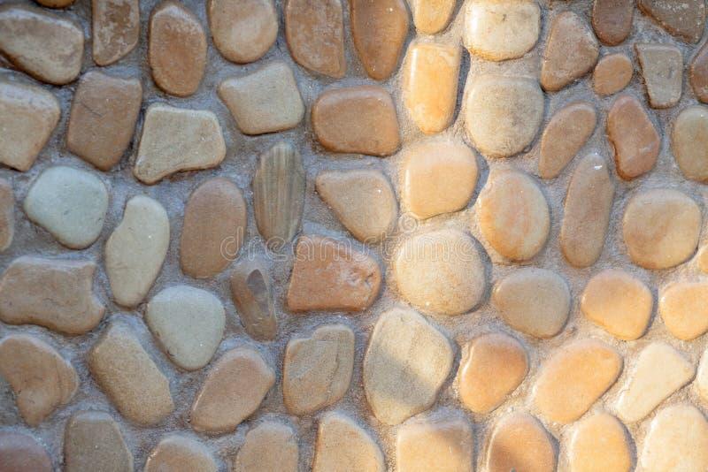 Bezszwowej tekstury kamienna ściana Bezszwowy tło bezszwowy wzoru obrazy royalty free