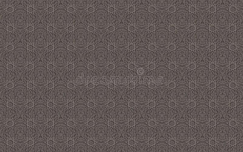 Bezszwowej tekstury Popielata koronka zdjęcie royalty free