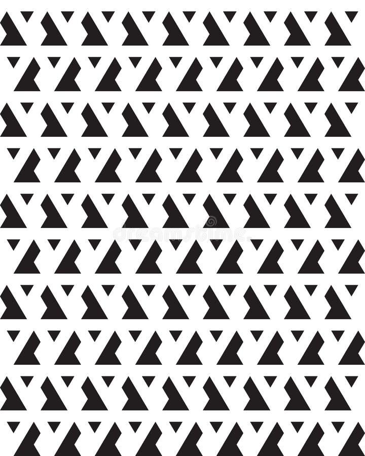 bezszwowi monochromatyczni wzory zdjęcie stock