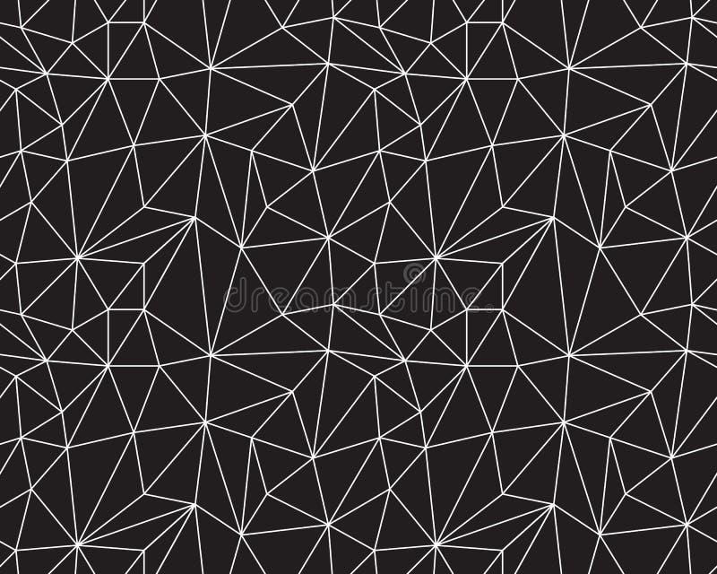bezszwowi monochromatyczni wzory obraz stock