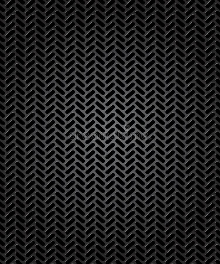 Bezszwowy ślad opona. Wektorowa ilustracja ilustracji