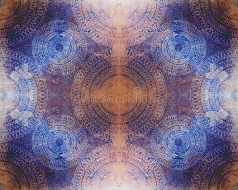 bezszwowy abstrakcjonistyczny artystyczny tło ilustracja wektor