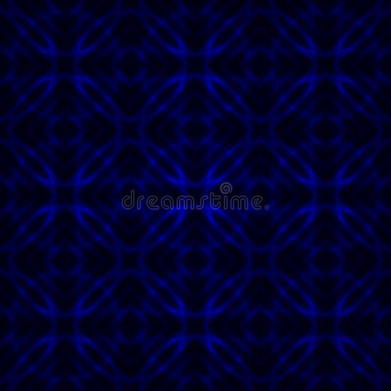 Bezszwowy abstrakcjonistyczny futurystyczny tło ilustracji