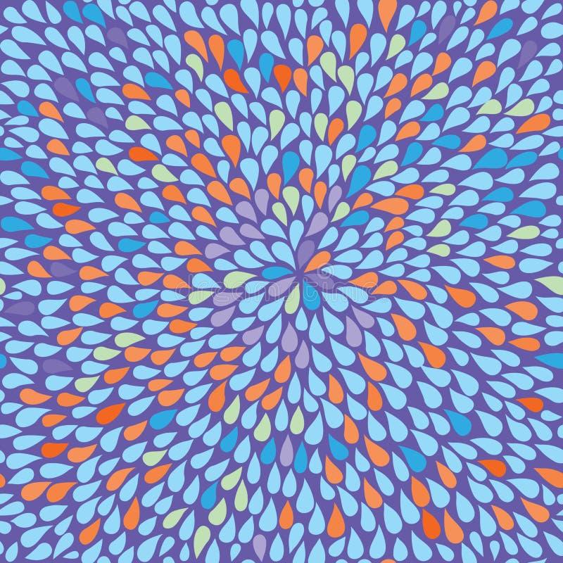 bezszwowy abstrakcjonistyczny tło ilustracji