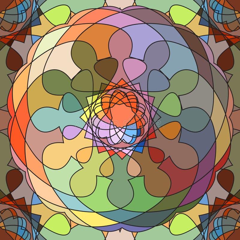 bezszwowy abstrakcyjne tło ilustracja wektor