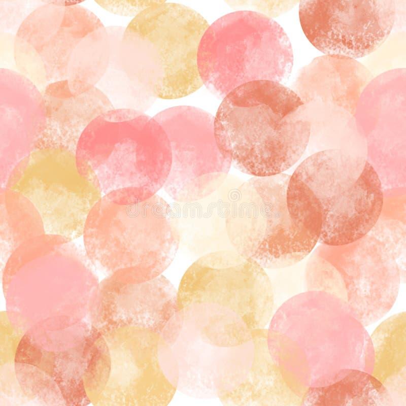 Bezszwowy abstrakt menchii t?o S?o?ca ?wiecenie Projekt dla tapet, tkaniny, tkaniny, materiały fotografia stock