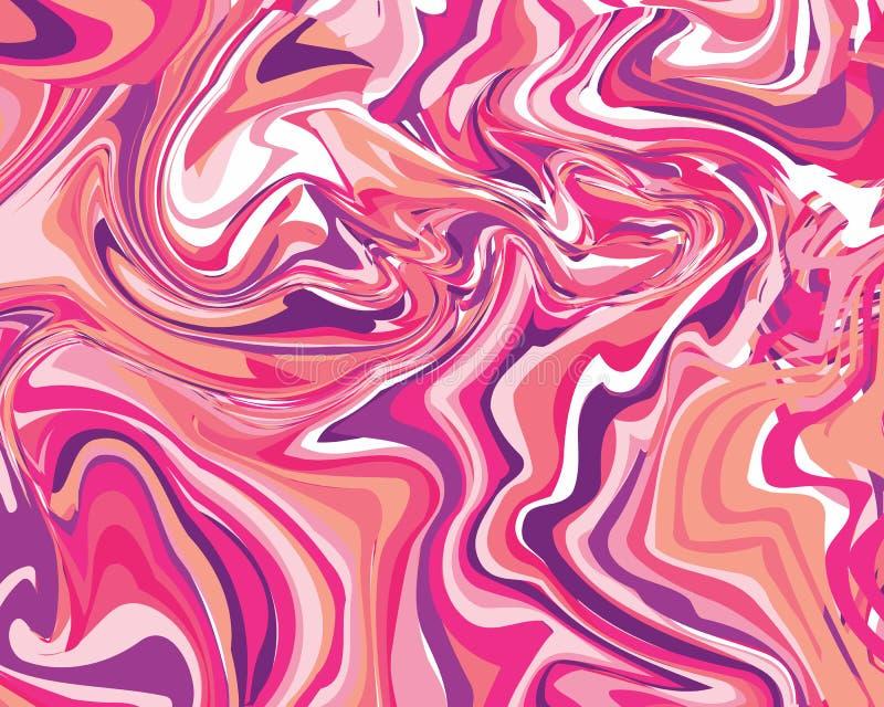 Bezszwowy abstrakta marmuru wzór zdjęcia stock