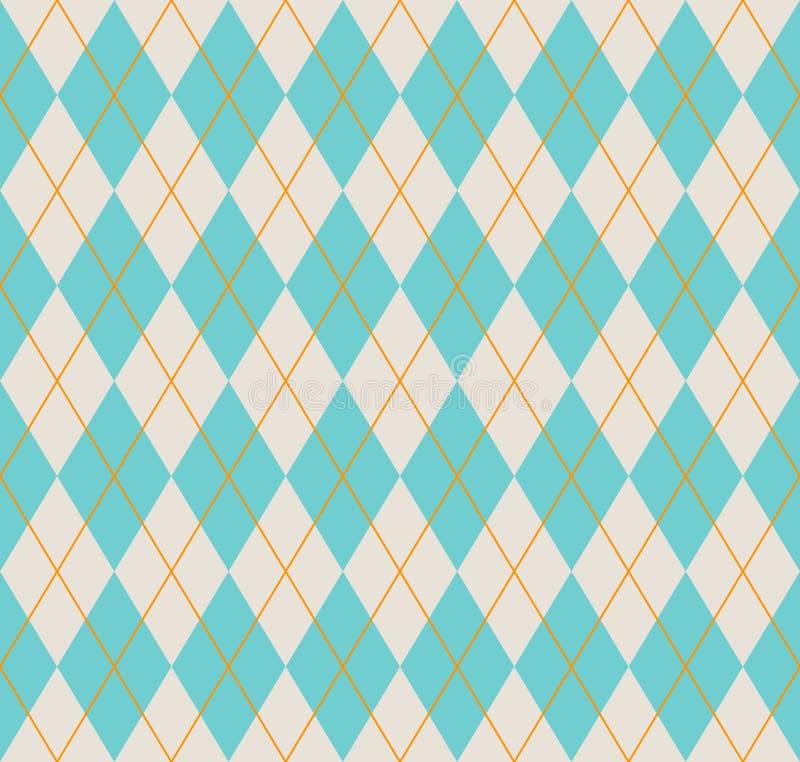 Bezszwowy argyle wzór. ilustracji