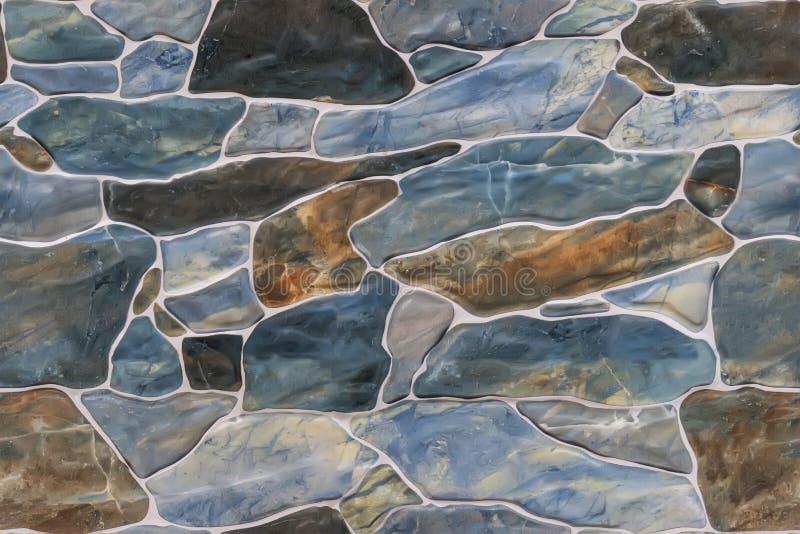 bezszwowy ashlar kamiennej ściany tekstury tło obrazy stock