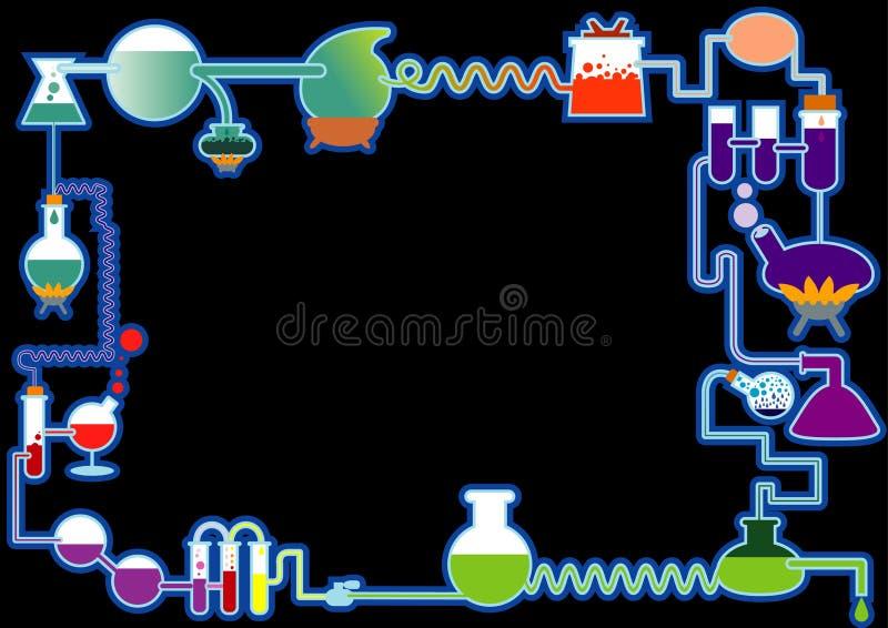 bezszwowy chemia symbol ilustracja wektor