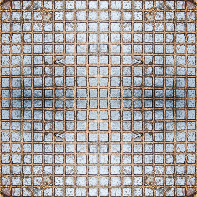 Bezszwowy ciosowy żelazo Tekstura, tło, rocznik obrazy royalty free