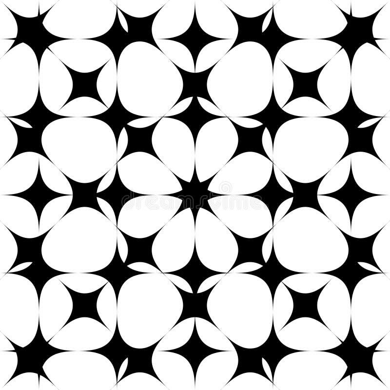 Bezszwowy deseniowy tło Abstrakt w geometrycznym projekcie wektor bezszwowy wzoru ilustracja wektor