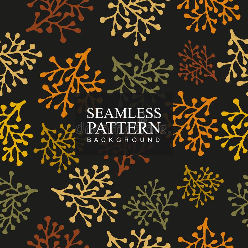 Bezszwowy deseniowy tło kwiat Tekstura dla tło Kwiecisty ornament, bezszwowa tekstura dla tapet, tkanina, opakunkowy v obraz royalty free