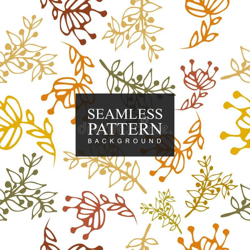 Bezszwowy deseniowy tło kwiat Tekstura dla tło Kwiecisty ornament, bezszwowa tekstura dla tapet, tkanina, zawija zdjęcia royalty free