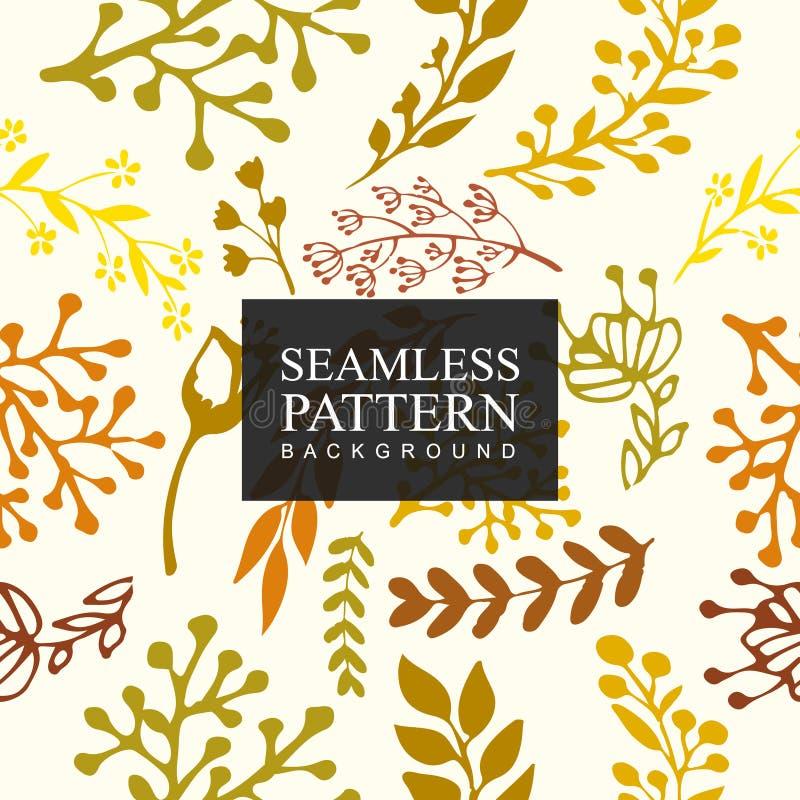 Bezszwowy deseniowy tło kwiat Tekstura dla tło Kwiecisty ornament, bezszwowa tekstura dla tapet, tkanina, zawija zdjęcia stock