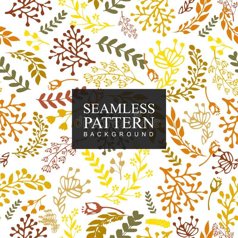 Bezszwowy deseniowy tło kwiat Tekstura dla tło Kwiecisty ornament, bezszwowa tekstura dla tapet, tkanina, zawija zdjęcie royalty free