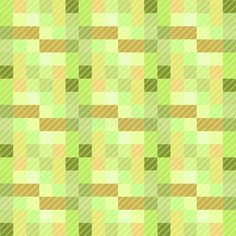 Bezszwowy deseniowy tło od różnorodność stubarwnych kwadratów zdjęcie stock