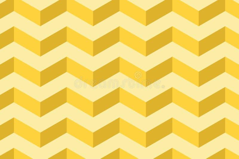 Bezszwowy falisty linia wz?r Geometryczny monochromatyczny abstrakcjonistyczny t?o Prosta tapeta dla sztandaru Odziewa projekt ilustracji