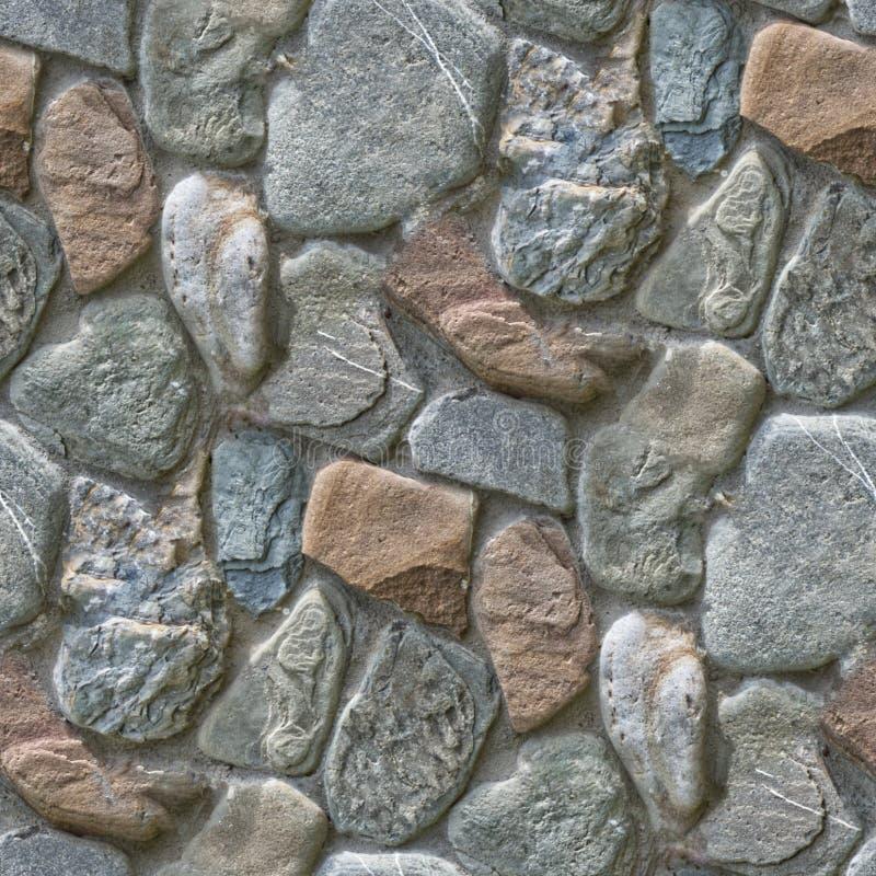 Bezszwowy fotografia wzór czerep kamienny bruk Ten płytka może używać dla projekt ścian dla lub dróg reklam lub gier obrazy stock
