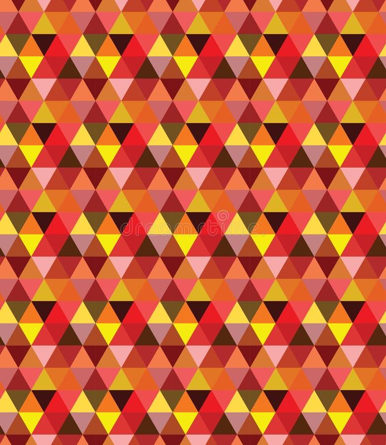 Bezszwowy geometrical trójgraniasty wzór, tło/ zdjęcie royalty free