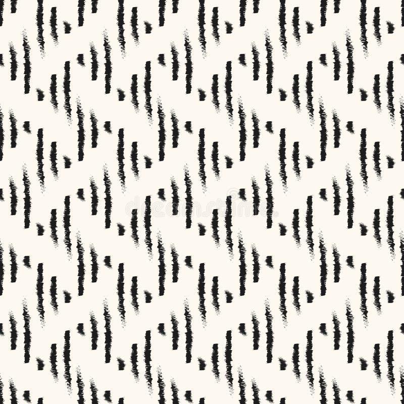 Bezszwowy geometryczny etniczny wzór. ilustracja wektor