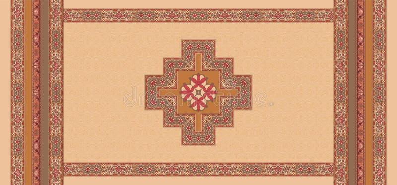 Bezszwowy geometryczny jedwabiu wzoru t?o ilustracja wektor