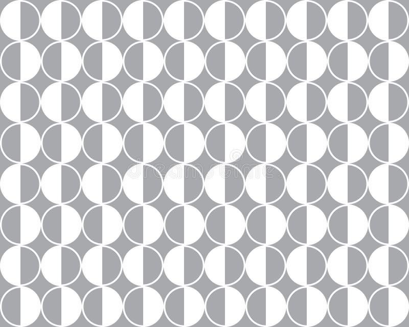 Bezszwowy geometryczny wektoru wzoru tło ilustracja wektor
