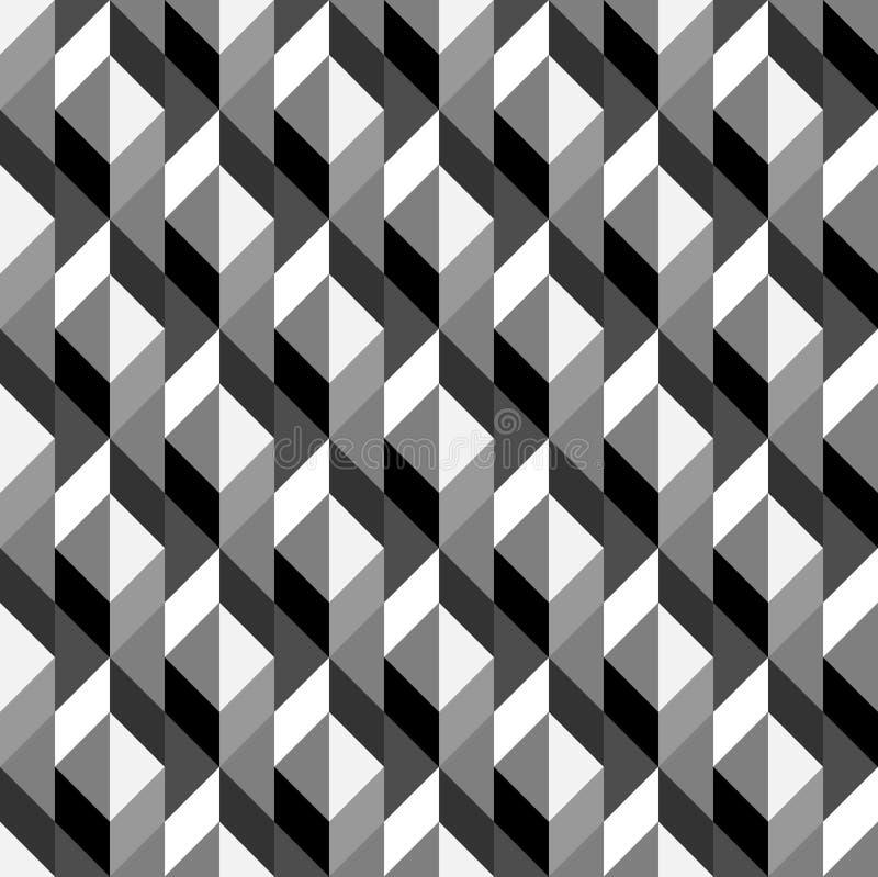 Bezszwowy geometryczny wzór zdjęcia royalty free