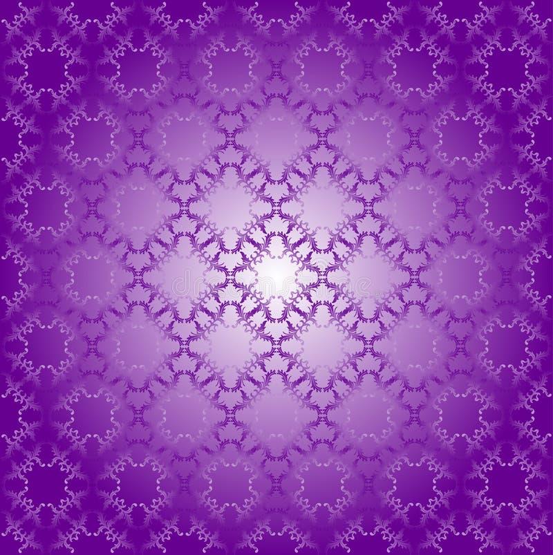 Bezszwowy geometryczny wzór ultrafioletowy kolor royalty ilustracja