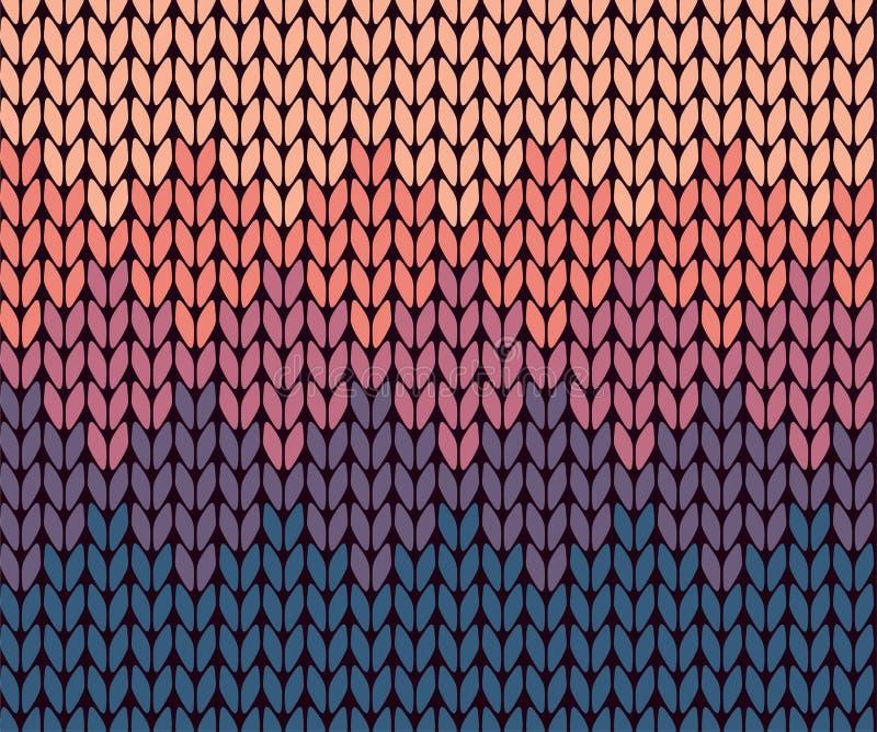 Bezszwowy gradient dziający wzór ilustracji