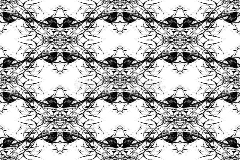 bezszwowy grafika abstrakcjonistyczny wzór ilustracja wektor