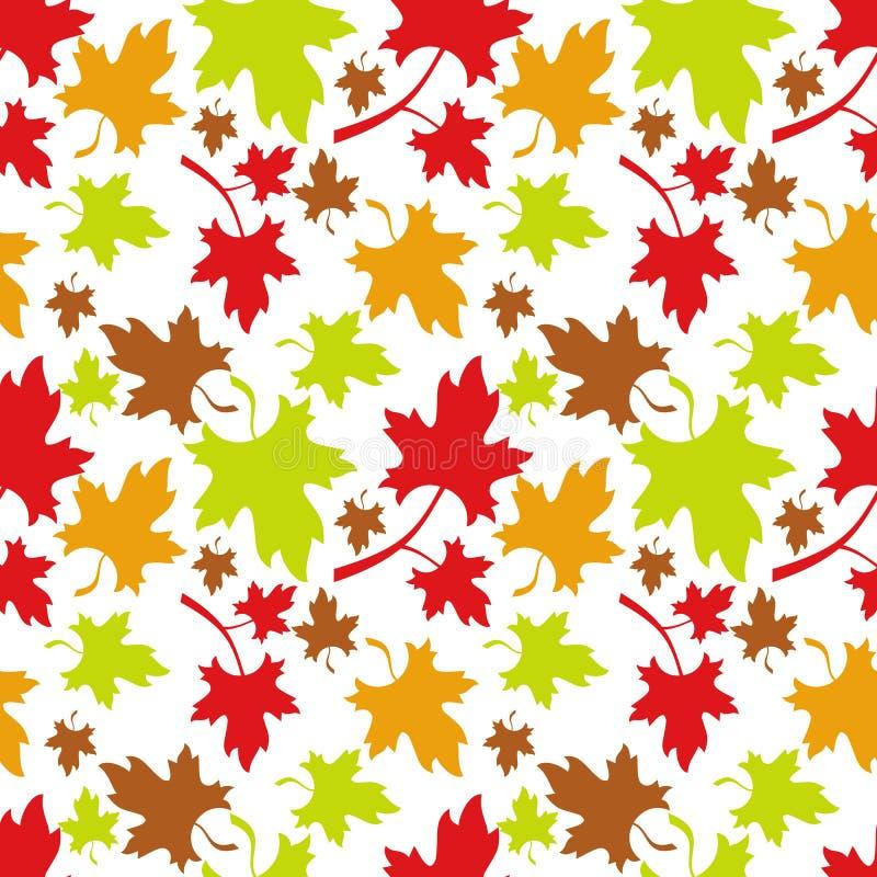bezszwowy jesieni wzoru royalty ilustracja