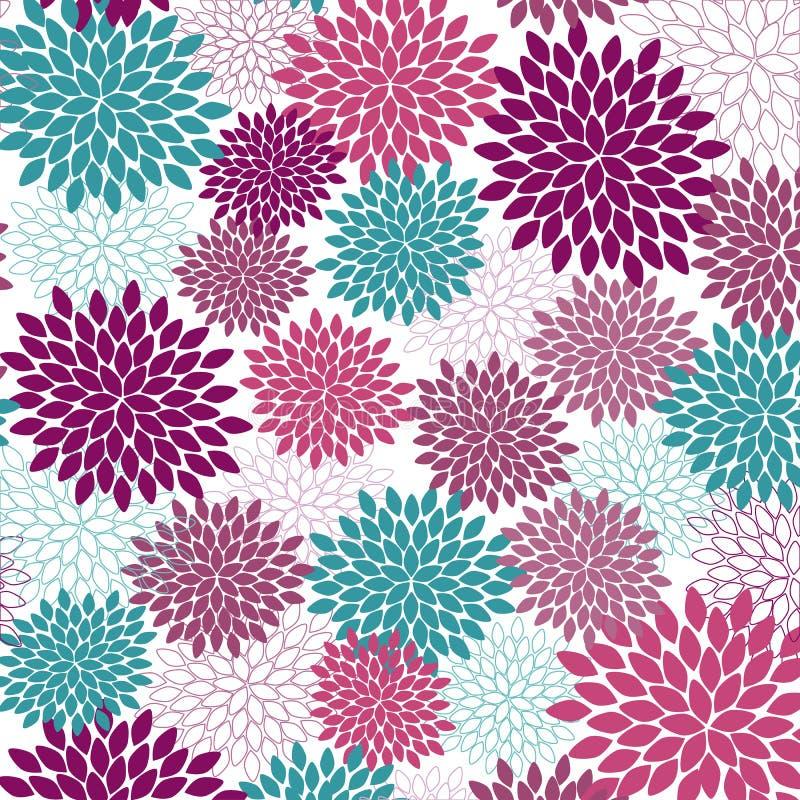 Bezszwowy kwiat ilustracja wektor