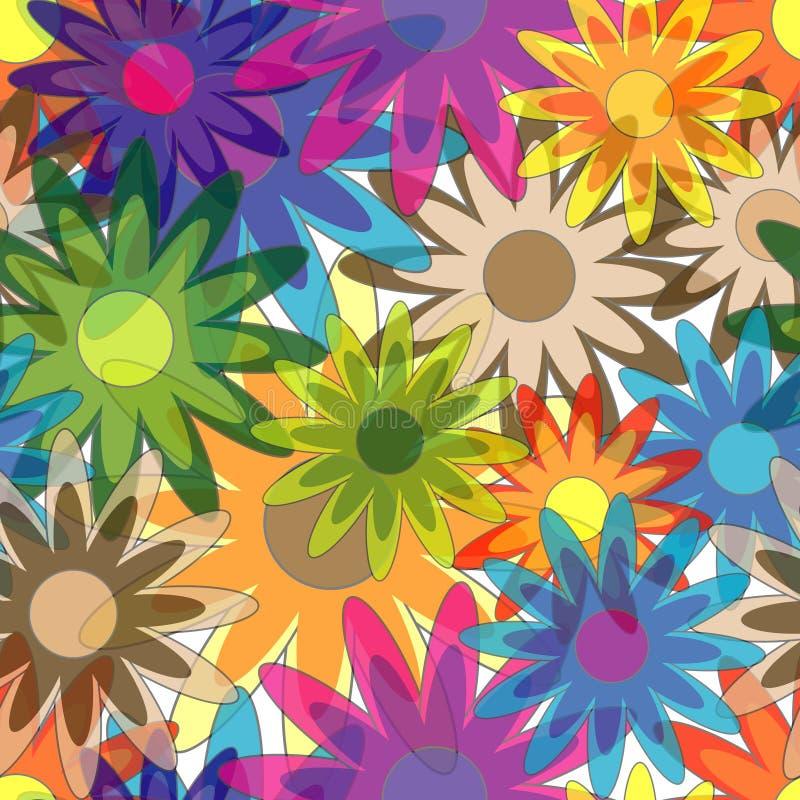 bezszwowy kwiatu wzór ilustracja wektor