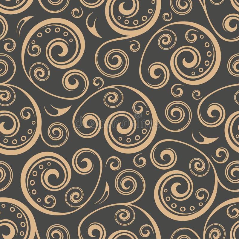 Download Bezszwowy kwiecisty tła ilustracja wektor. Ilustracja złożonej z wyznaczający - 57654035